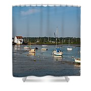 River Deben Estuary Shower Curtain
