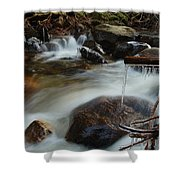 River Detail Shower Curtain
