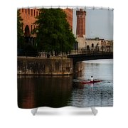 River Gliding Shower Curtain