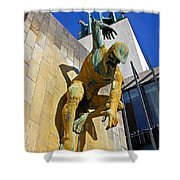 River God Tyne Sculpture IIi Shower Curtain
