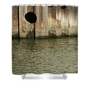 River In The City 1 Shower Curtain