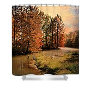River Of Hope Shower Curtain by Jai Johnson