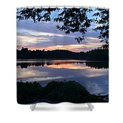 River Of Tranquility Shower Curtain