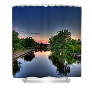 River Or Harbour Shower Curtain
