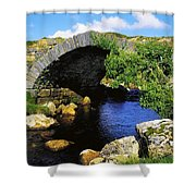 River Owenwee, Poisoned Glen, Co Shower Curtain