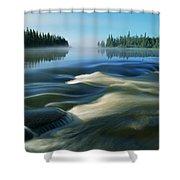 River Rapids Shower Curtain