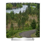 River Road Shower Curtain