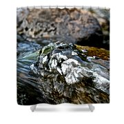 River Rock Shower Curtain