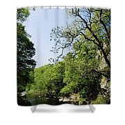River Roe, Roe Valley, Limavady, Co Shower Curtain