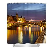 River Seine And The Concierge Shower Curtain