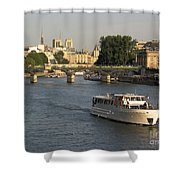 River Seine In Paris Shower Curtain