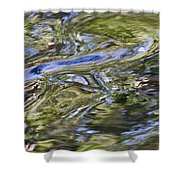 River Swirls - Abstract Shower Curtain