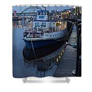 River Tyne Cruise Ship Shower Curtain