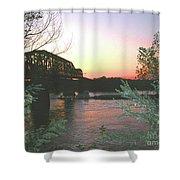 Riverset Shower Curtain