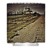 Road Of Prayers Shower Curtain