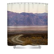Road Through Death Valley Shower Curtain