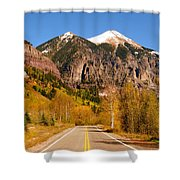 Road To Adventure Shower Curtain