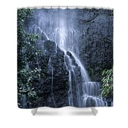 Road To Hana Waterfall Shower Curtain