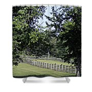 Road To Lynchburg Virginia Shower Curtain