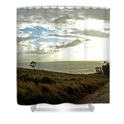 Road To The Ocean Shower Curtain
