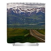 Road To The Sangre De Cristos Shower Curtain