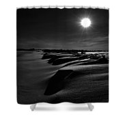 Road With Nails Shower Curtain