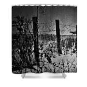 Roads Of Country  Shower Curtain