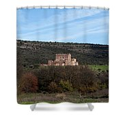 Roadside Castle Shower Curtain