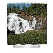 Roaring Falls Glen Alpine Falls Shower Curtain