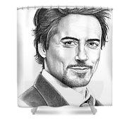 Robert Downey Jr. Shower Curtain