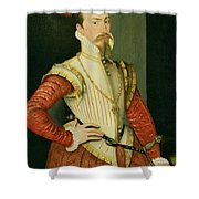 Robert Dudley - 1st Earl Of Leicester Shower Curtain