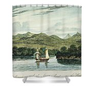 Robert Fultons Clermont Shower Curtain