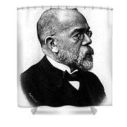 Robert Koch, German Microbiologist Shower Curtain