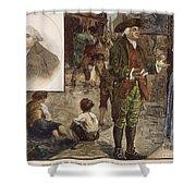 Robert Raikes (1735-1811) Shower Curtain by Granger
