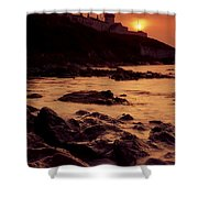 Roches Point, Whitegate, Cork Harbour Shower Curtain