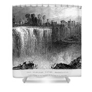 Rochester: Genesee Falls Shower Curtain