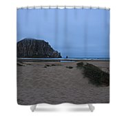 Rock And Dunes Shower Curtain