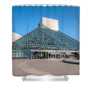 Rock And Roll Hall Of Fame II Shower Curtain