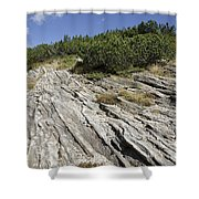Rock And Sky Shower Curtain