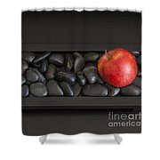 Rock Apple Shower Curtain