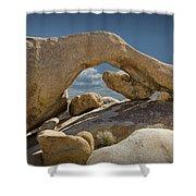 Rock Arch Near Joshua Tree No 0294 Shower Curtain