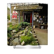 Rock Creeks Trading Post Shower Curtain