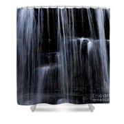 Rock Glen Water Falls Shower Curtain