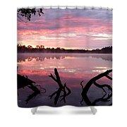 Rock Lake Shower Curtain