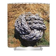 Rock N Rope Shower Curtain