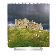 Rock Of Cashel, Cashel, Co Tipperary Shower Curtain