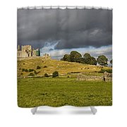 Rock Of Cashel, Cashel, County Shower Curtain