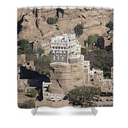 Rock Palace Shower Curtain