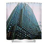 Rockefeller Center Shower Curtain