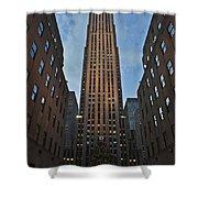 Rockefeller Tree Shower Curtain